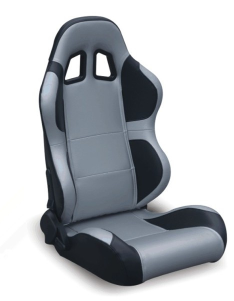 Fashion Black And Grey Racing Car Sport Seat / Muscle Car Racing Seats